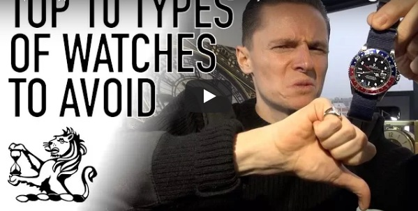 Ten Types of Watches To Avoid